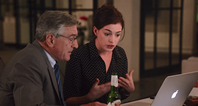 Hathaway, De Niro shine in The Intern
