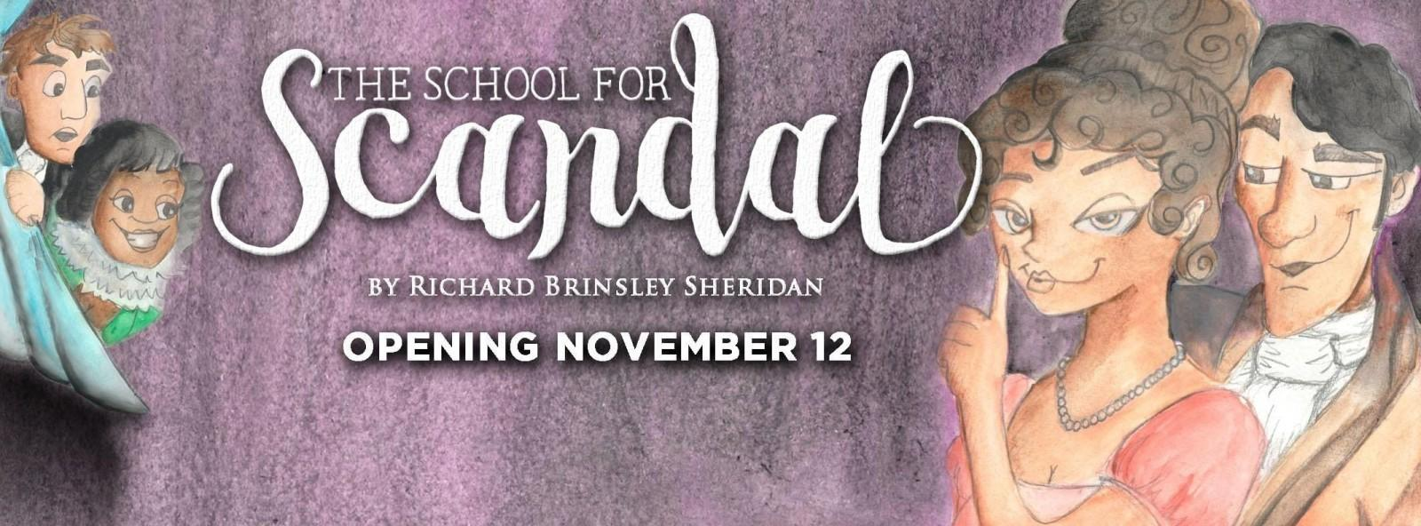 Theatre Wesleyan's The School for Scandal offers a classic tale about gossip