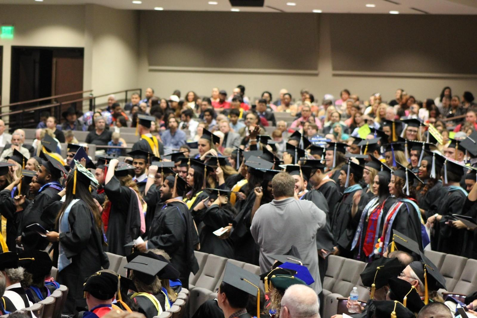 Texas Wesleyan recognizes fall graduates