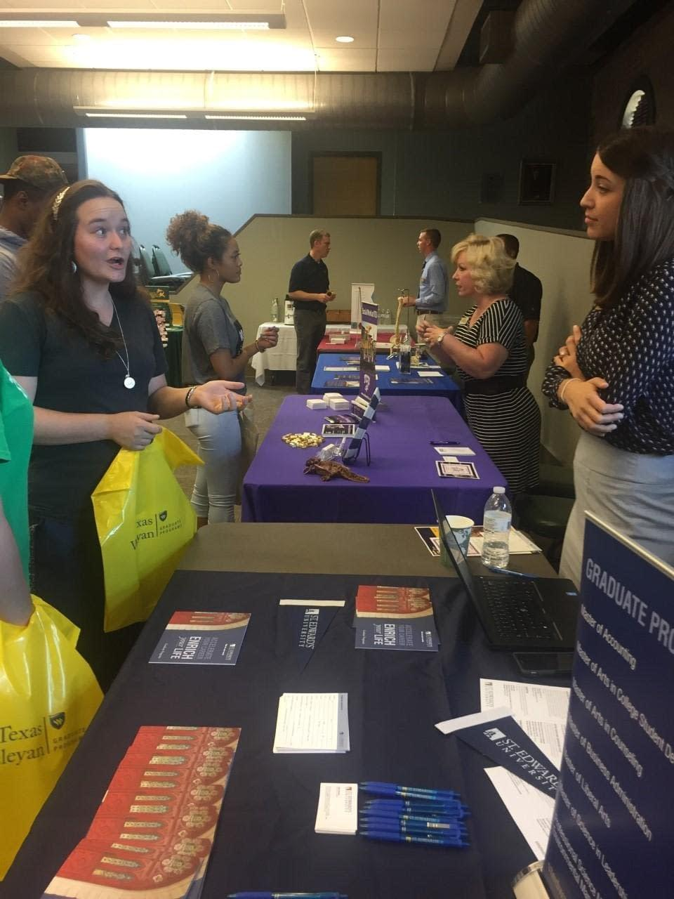 Career Services host Grad Fair