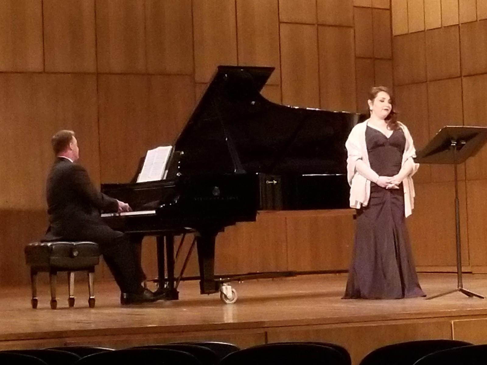 Garcia performs a culturally-inclusive recital at Martin Hall