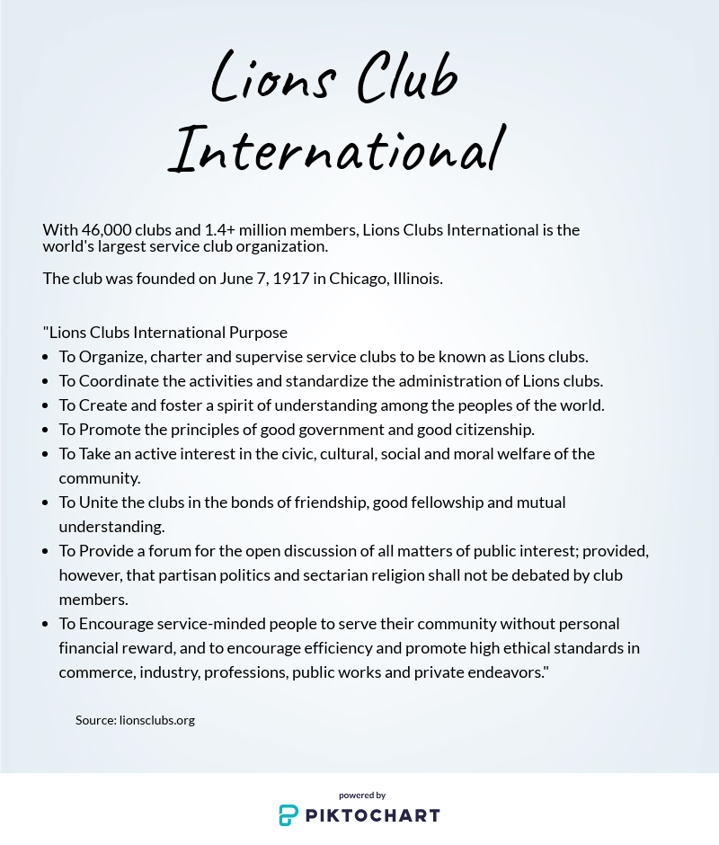Lions Clubs coming to Texas Wesleyan