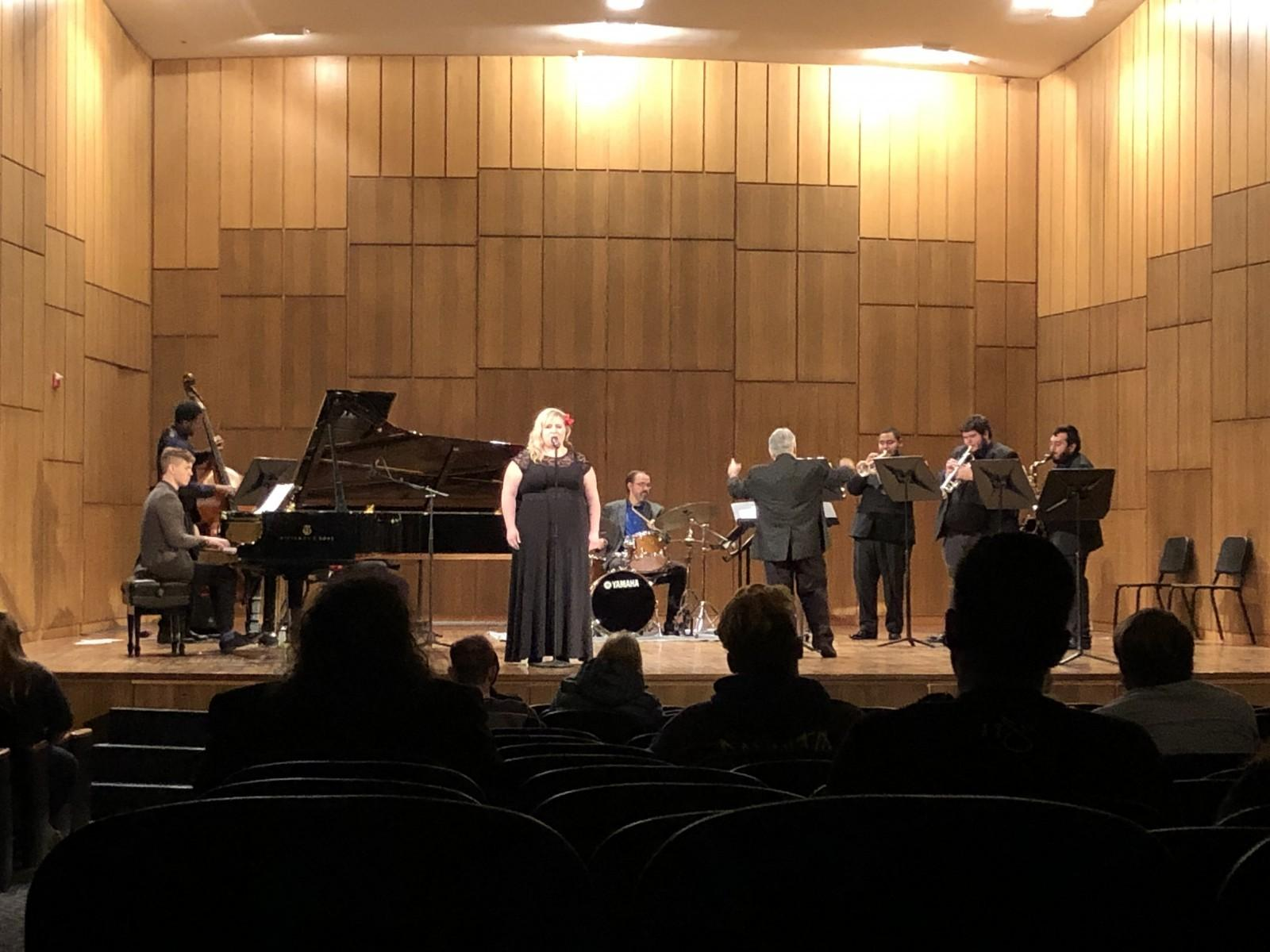 jazz concert brings pizzazz