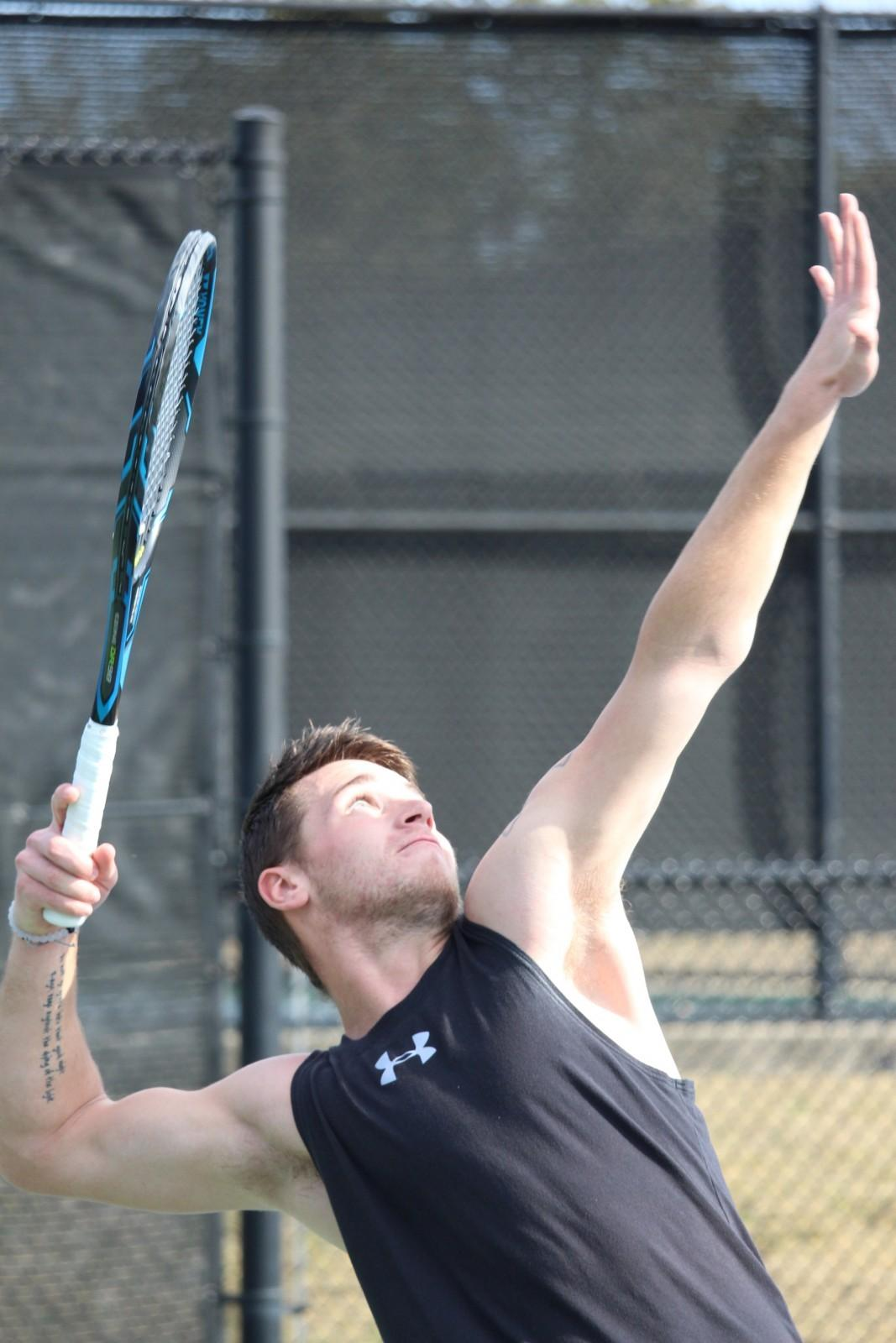 Ram tennis teams swing into action