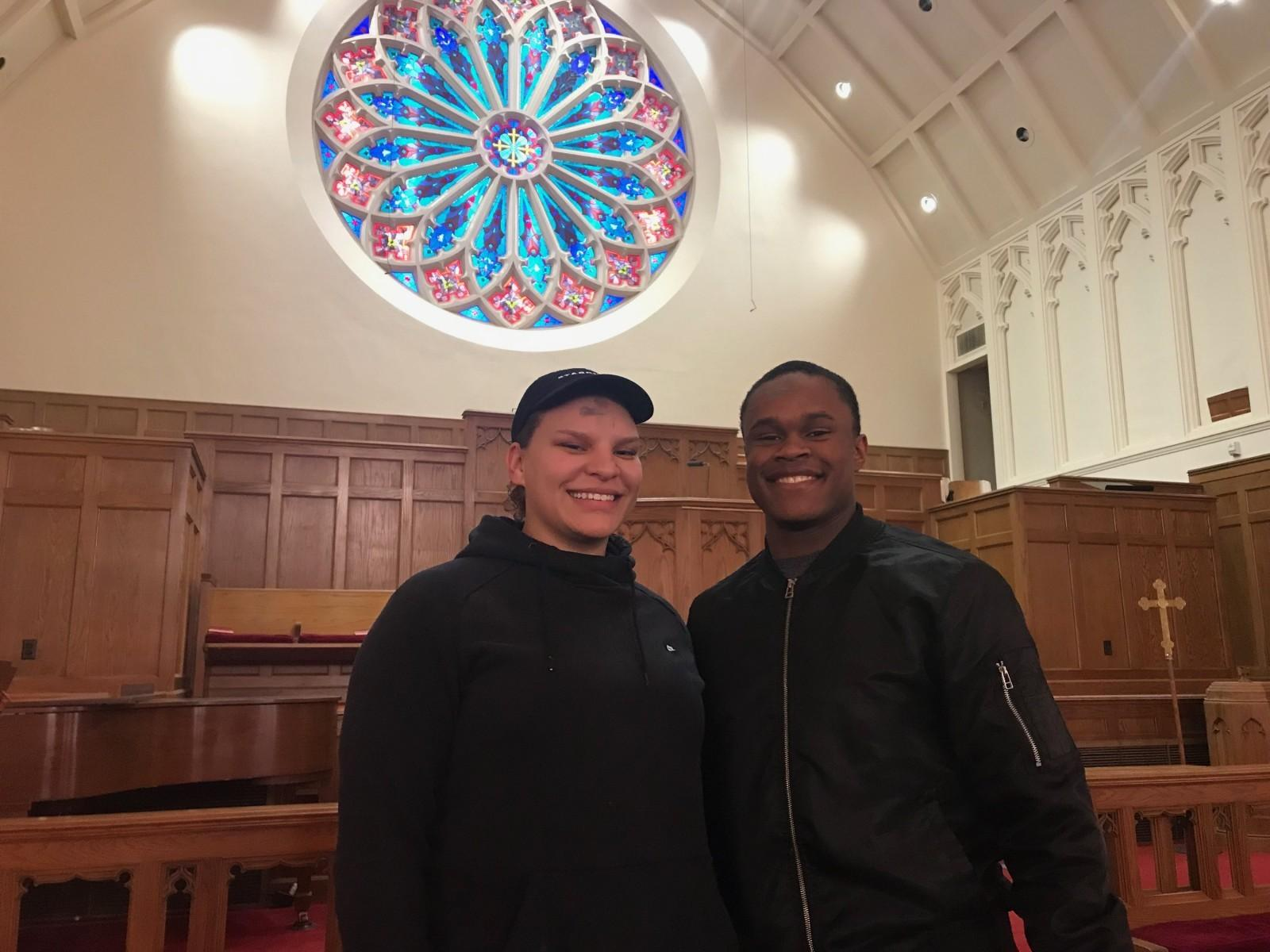 Wesleyan students experience Ash Wednesday