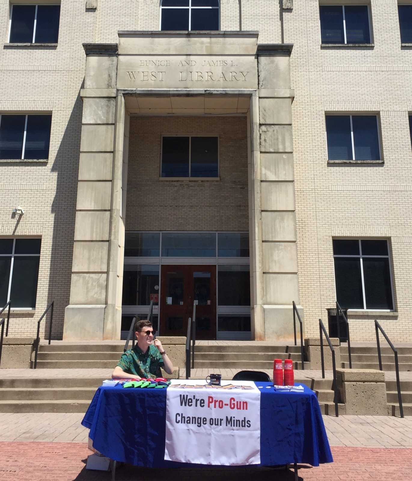 Young Conservatives' pro-gun event held on campus
