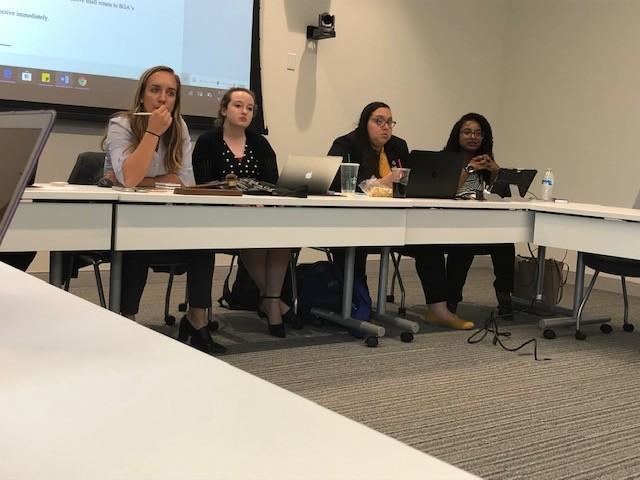 SGA begins semester by passing four bills