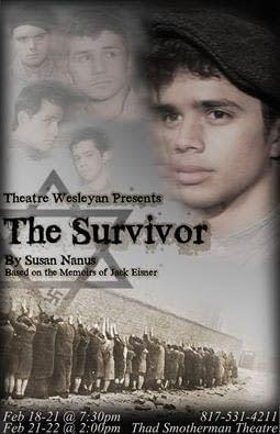 Theater Wesleyan presents The Survivor opening tonight