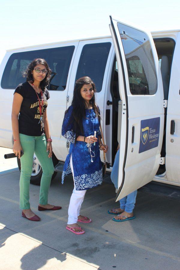 Ram Van helps students explore Metroplex