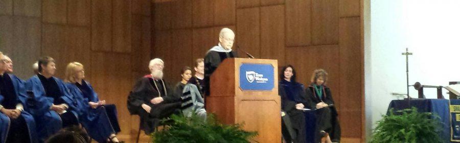 Norwood gives keynote at convocation
