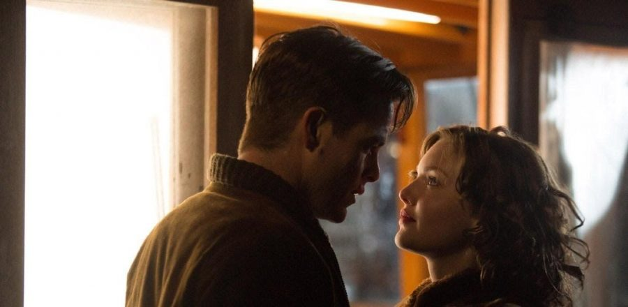 Bernie+Webber+and+Miriam+are+engaged+in+Craig+Gillespies+film+The+Finest+Hours%2C+which+tells+the+true+story+of+a+Coast+Guard+rescue+in+the+1950s.