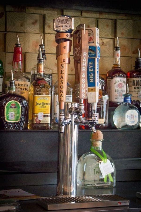 The college bar is conveniently located near the Texas Christian University campus.