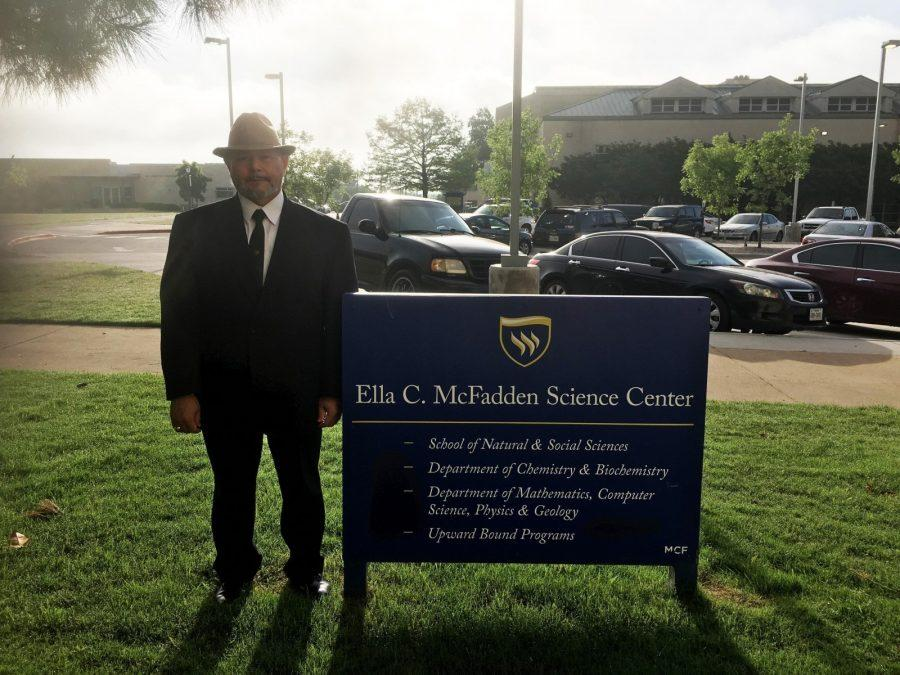 Dr. Ricardo Rodriguez wants to make Texas Wesleyan a premier University. (Photo by Gracie Coleman)