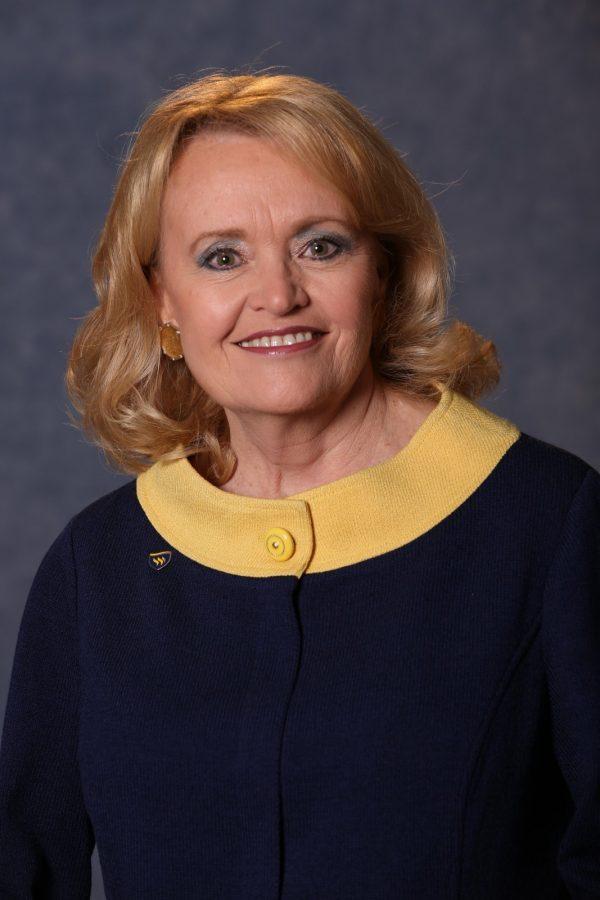 Portrait of Beverly Volkman Powell.