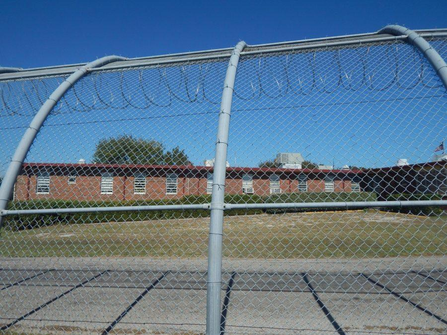Outside the Gainesville State School, a juvenile detention center that houses more than 250 inmates. Photo by Shaydi Paramore