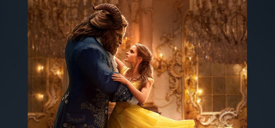 Dan Stevens (left) and Emma Watson perform in the film remake of Beauty and the Beast.