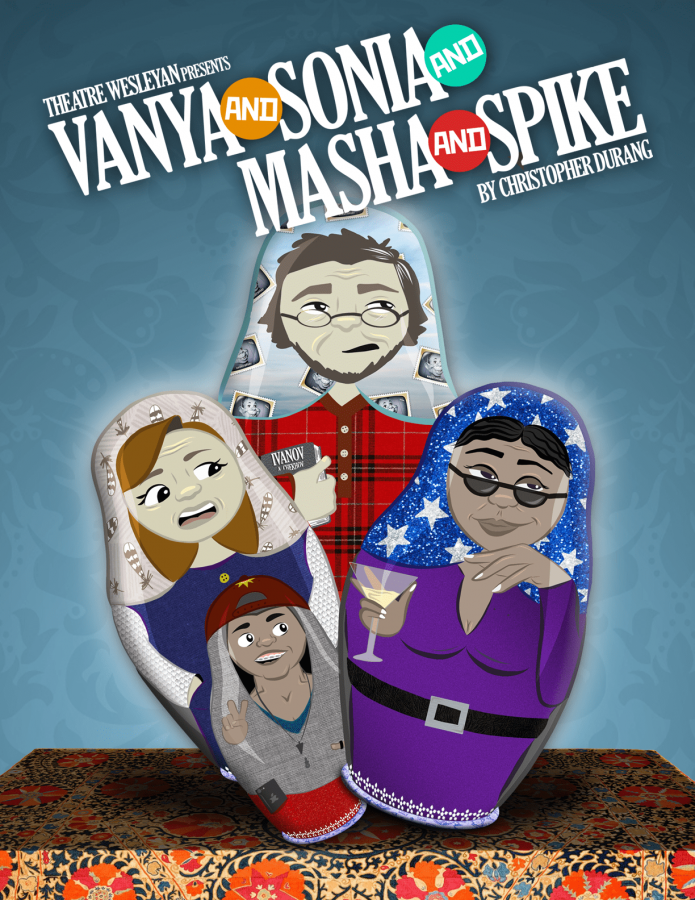 Vanya and Sonia and Masha and Spike will run through February 19 at the Thad Smotherman Theatre. Photo courtesy of Jacob Sanchez.