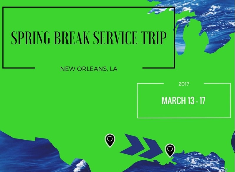 Texas Wesleyan students will travel to New Orleans during spring break.