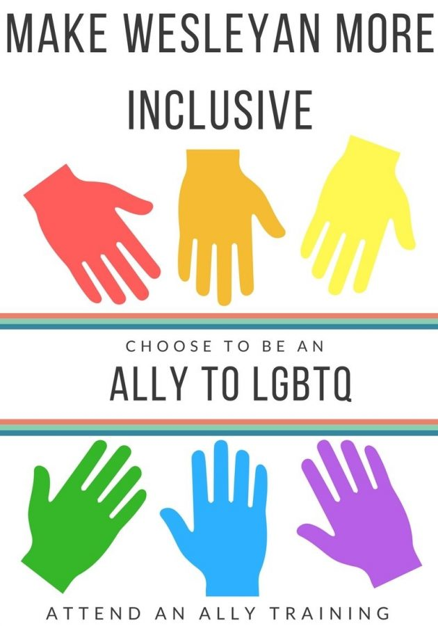 Students and faculty can learn more about LGBTQ issues at ally training.