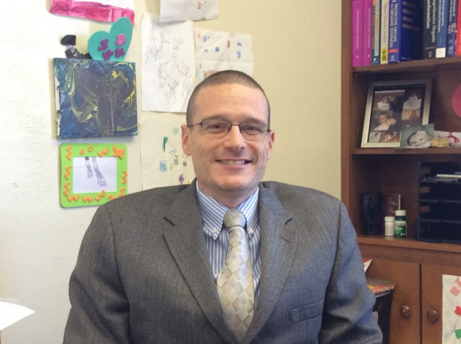 Dr. Phillip Pelphrey, associate professor of chemistry, assisted with the accreditation.