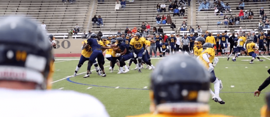 Blue and Gold Game Scrimmage