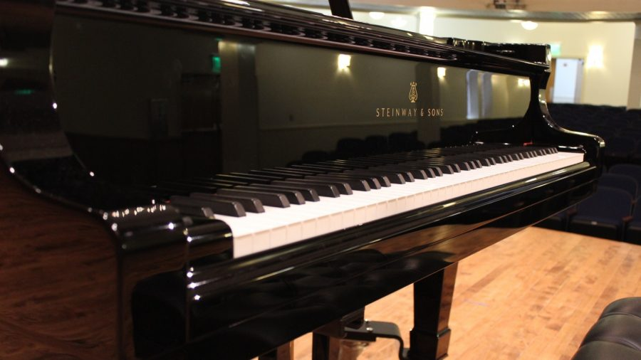 Finest piano in Fort Worth arrives home