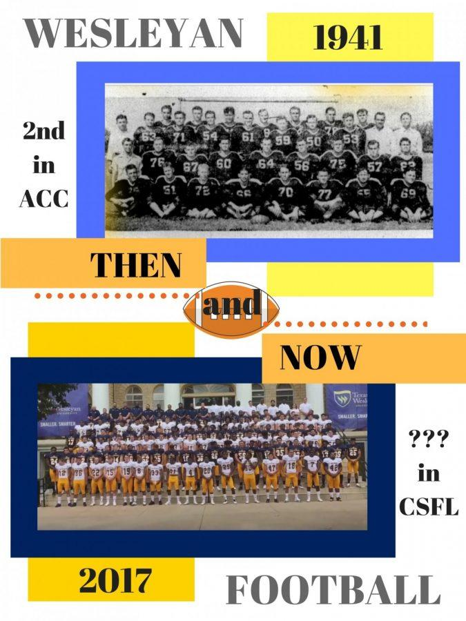 Texas Wesleyan joins the Central States Football League for its return season. Graphic by Hannah Onder
