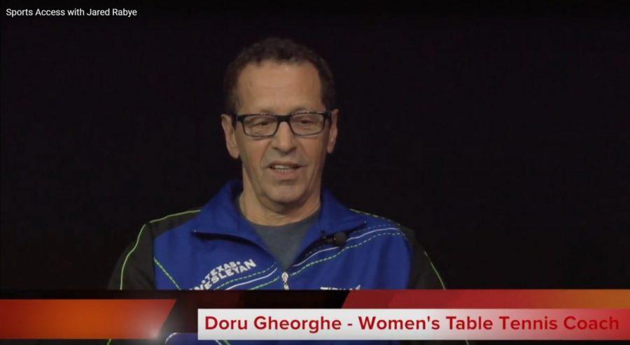 Coach Doru Gheorghe