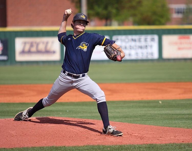 Stephen Yancey returns this season to pitch for the Rams. Photo contributed by Stephen Yancey.
