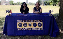 Order-Ramirez is the president of Texas Wesleyans Student Veterans Organization.  Photo contributed by Tristeza Order-Ramirez