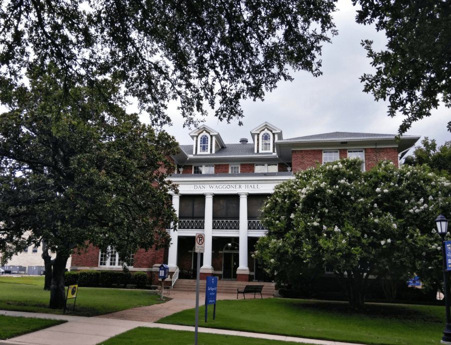 The School of Education is located beside Theatre Wesleyan and directly across the street from the Oneal Sells Administration building. Photo by Kaylia Brown