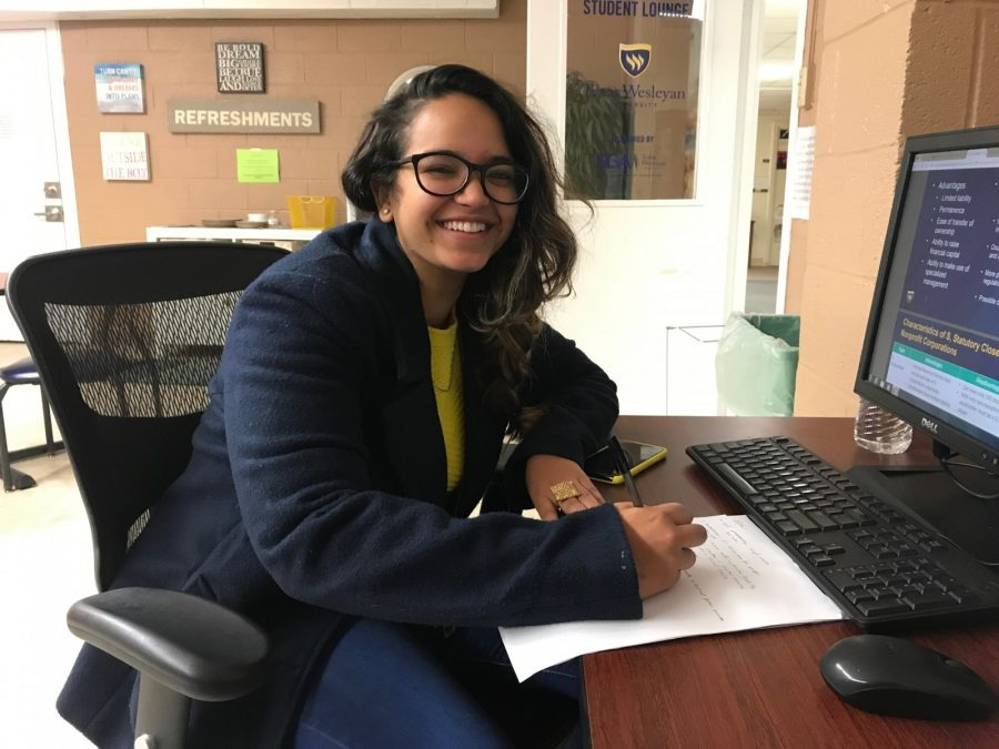 Sophomore biochemistry major and international student Anahita Keer discusses superstitions from her home country of India.