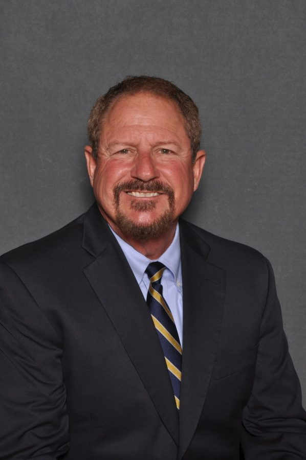 Steve Trachier moves to full-time head womens basketball coach. Photo contributed by Ryan Keating