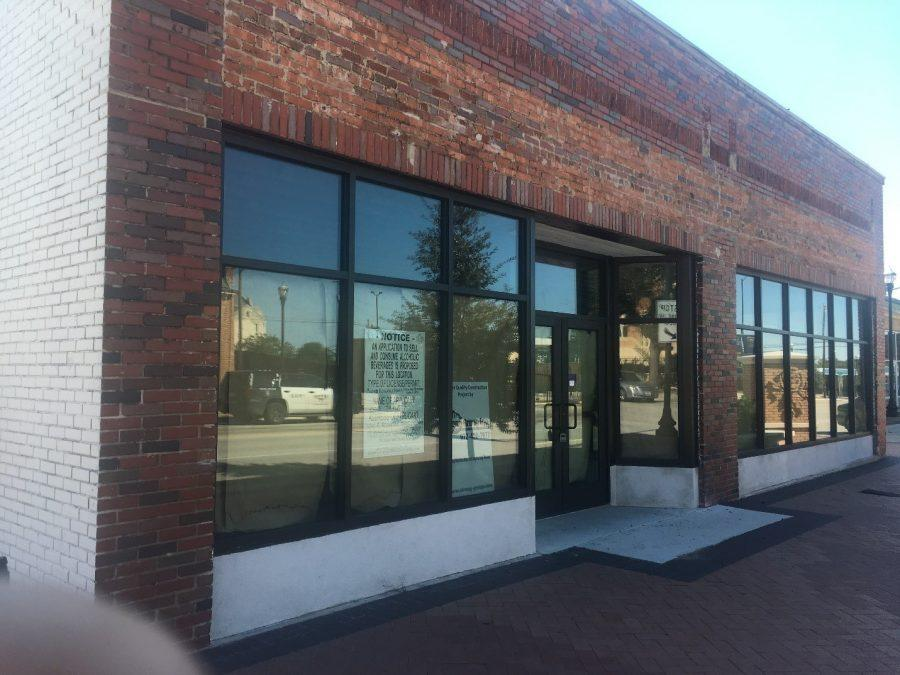 The future home of Ben's Triple B: Biscuits, Burgers and Brews on the corner of Rosedale and Wesleyan. Photo by Kaylia Brown
