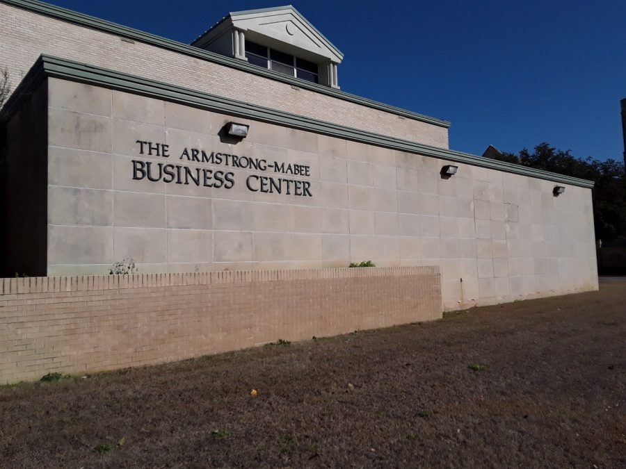 Less than five percent of global business programs have gotten the accreditation the School of Business was recently awarded.  Photo by Elizabeth Lloyd.