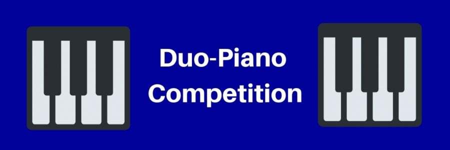 Texas Wesleyan will host the 11th annual Duo-Piano Competition on Saturday from 9 a.m. to 5 p.m. Graphic by Elena Maldonado