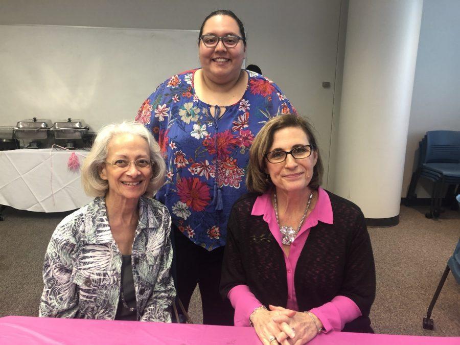 Liz Blunt, Karen Duarte-Escobar and Martha Earngey gather at the Powerful Womens Luncheon. Photo by Anyssa Pfeifer