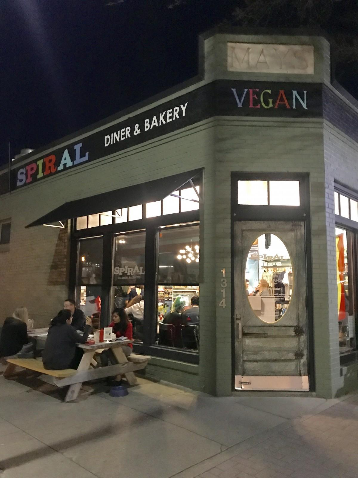 Spiral Diner serves up vegan comfort food