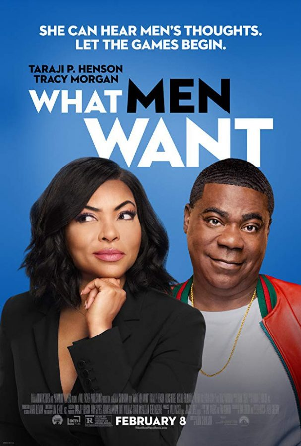 This is the movie poster for  What Men Want. Photo by IDMb