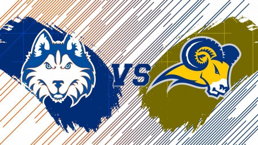 The+Rams+faced+off+against+the+Houston+Baptist+University+Huskies+on+Saturday+Night.%0AScreenshot+by+Amanda+Roach