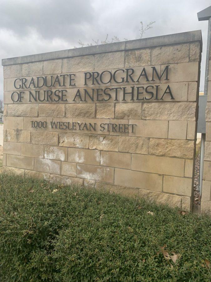 The  Graduate Program of Nurse Anesthesia is where the nurses practice. Photo by Brandon Rolfe