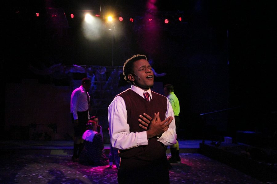 Theatre Wesleyan has given Tristen Brown the chance to chase his dreams