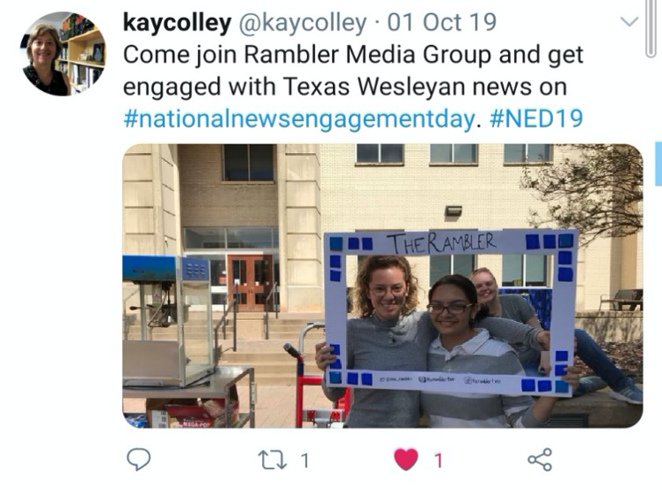 The Rambler Presents News Engagement Day