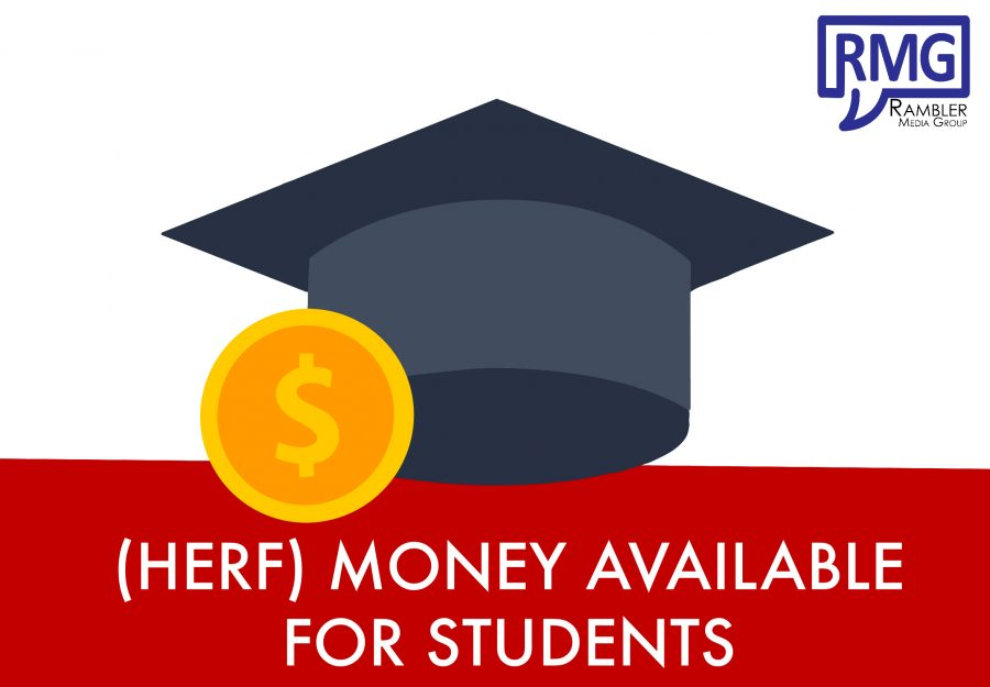 Higher Education Emergency relief fund (HERF) money available for students