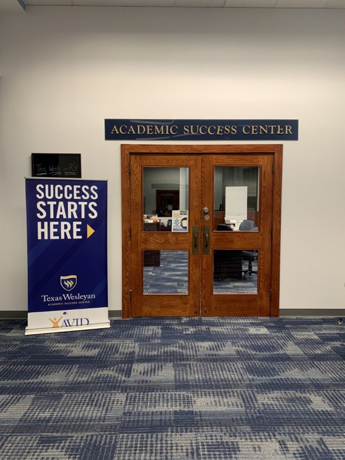 The Academic resource Center where students can take advantage of multiple resources.
